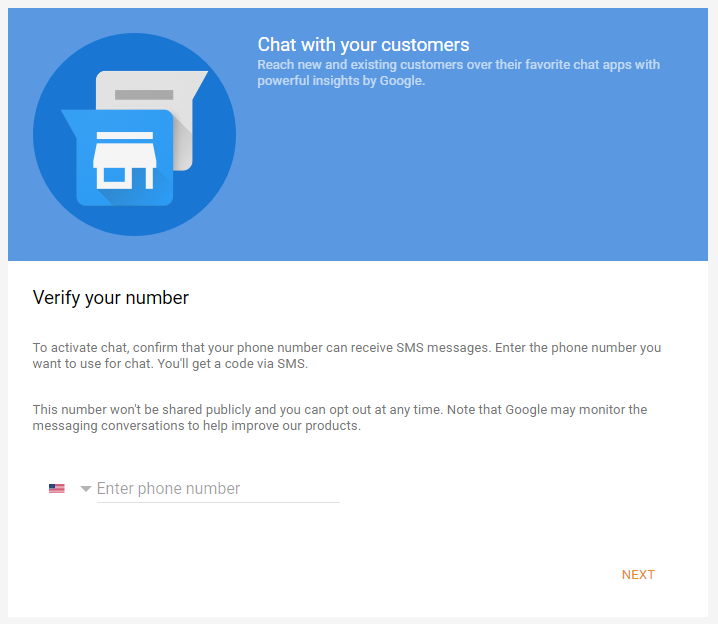 Google My Business Verify phone number