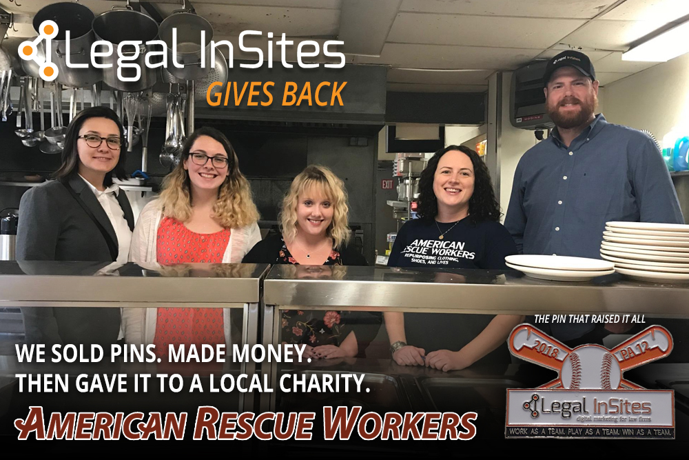 Legal InSites Gives Back: American Rescue Workers