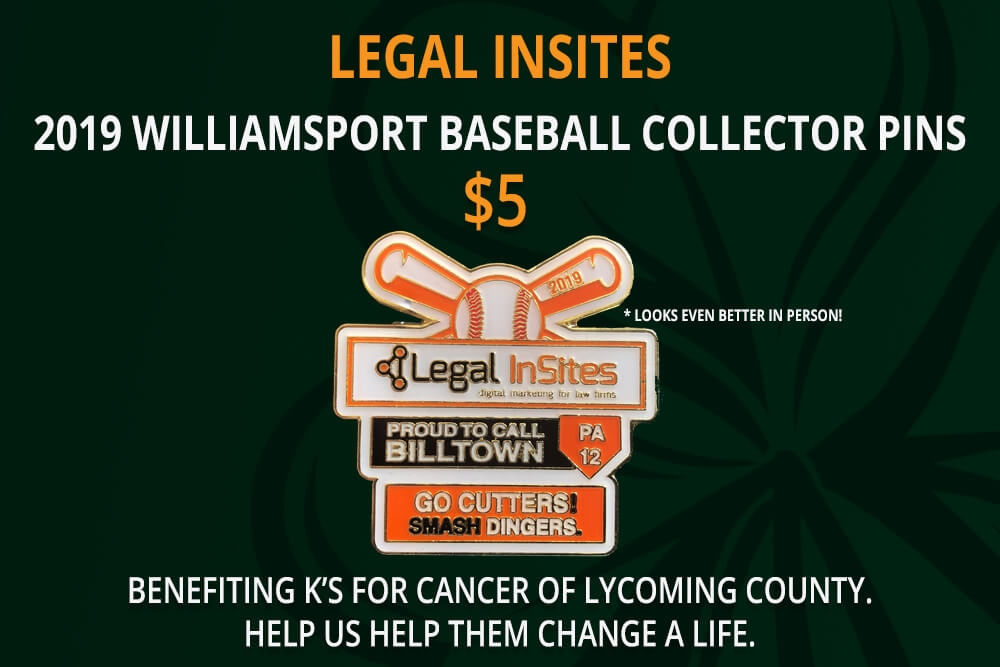 2019 Williamsport Baseball Collector Pins